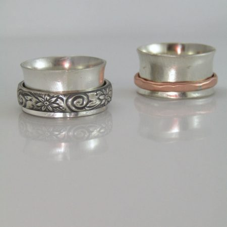 More Spinner Rings by Dianne Jacques  - featured on Jewelry Making Journal