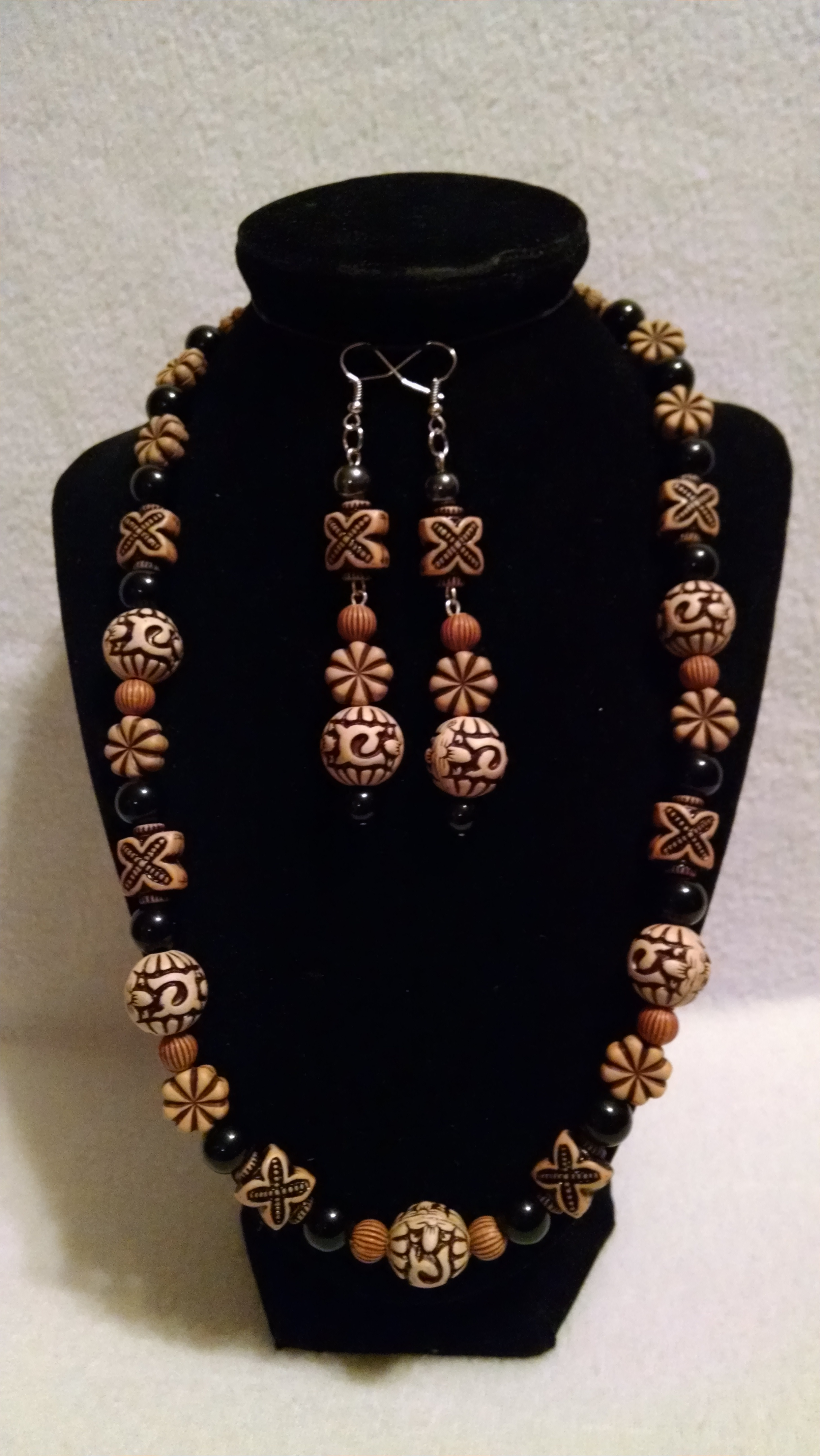 Customized Necklace And Earrings
