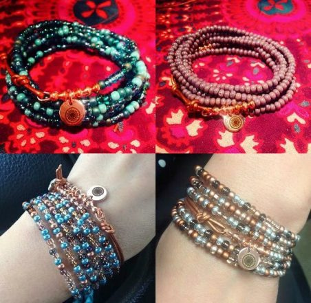 Fun with Seed Bead Wraps by Jessica  - featured on Jewelry Making Journal