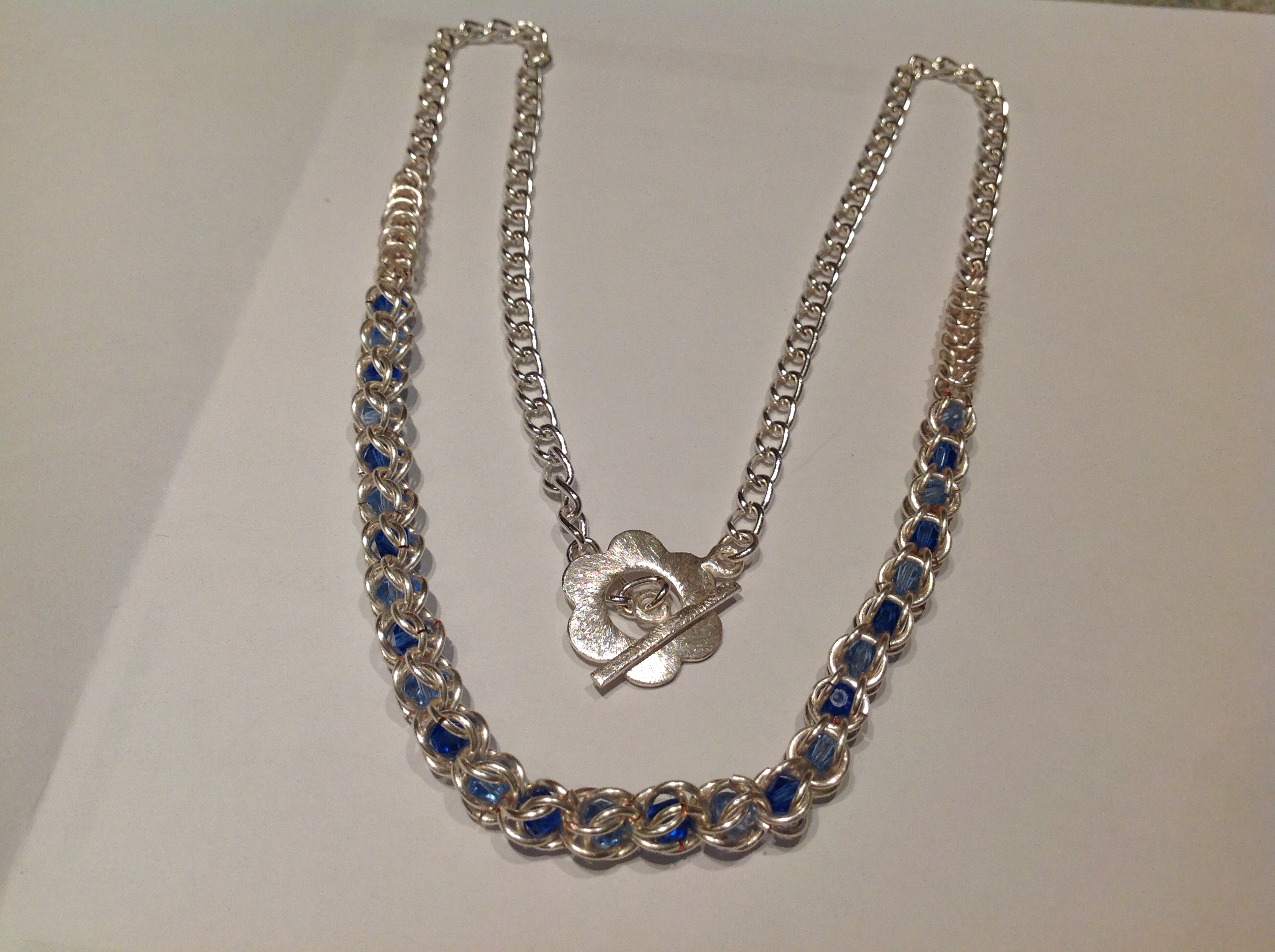 Chainmaille Necklace for a Friend
