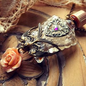 Perfume Bottle Pendants