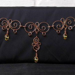 Copper Wire Curls