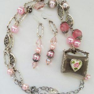 Treasures in Pink Necklace