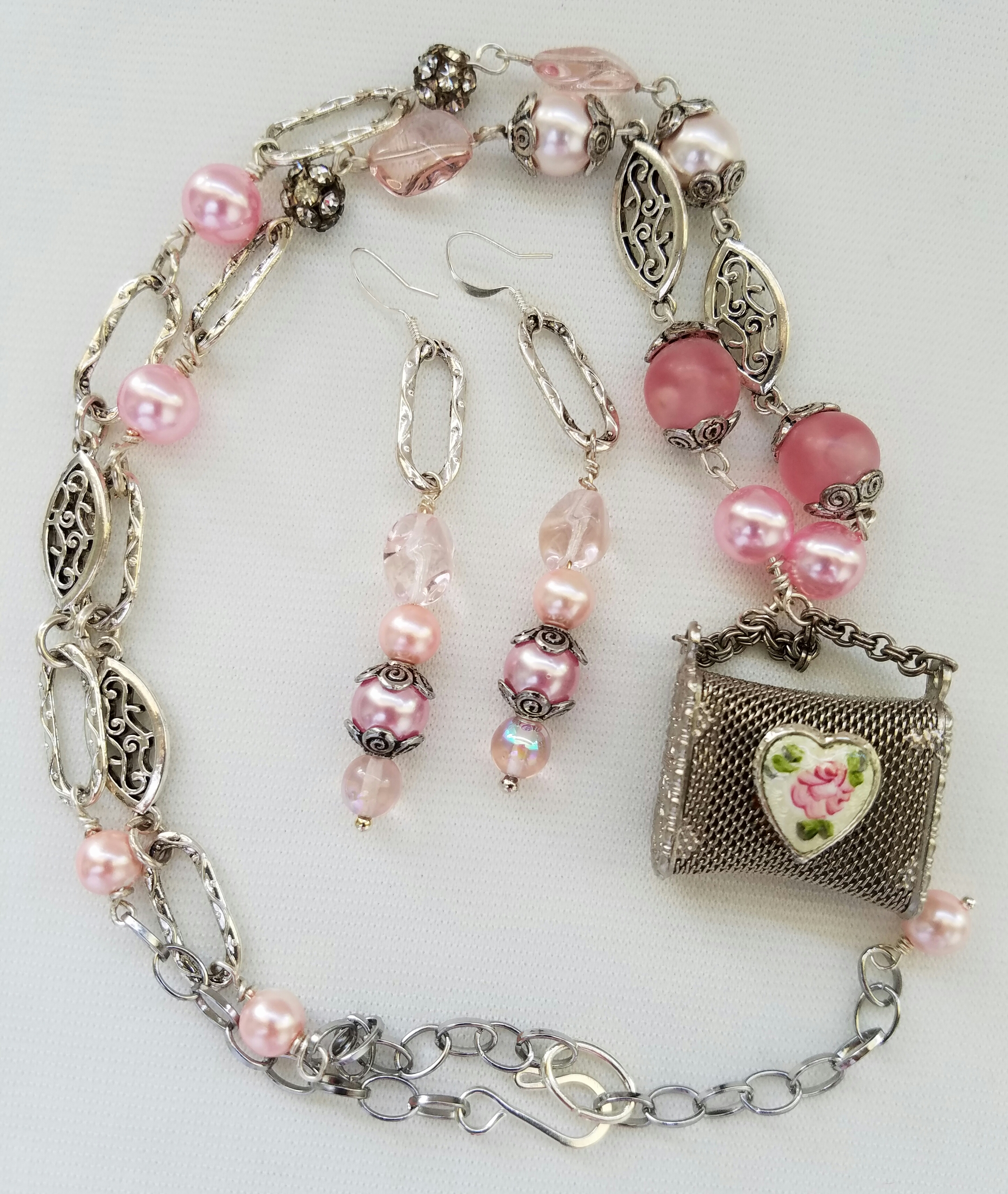 Treasures in Pink Necklace
