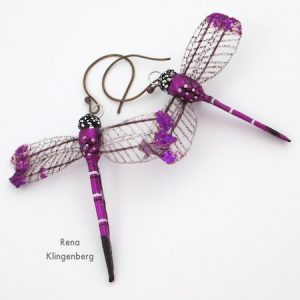 Dragonfly Earrings (Tutorial)
