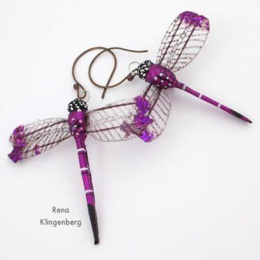 Dragonfly Earrings (Tutorial)