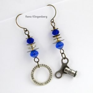 Elegant Steampunk Earrings (Tutorial)