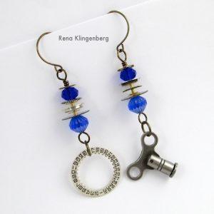 Elegant Steampunk Earrings (Tutorial)