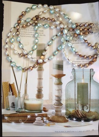 Inspiration for 3-Strand Color Block Pearl Necklace by Suzan Rothstein  - featured on Jewelry Making Journal