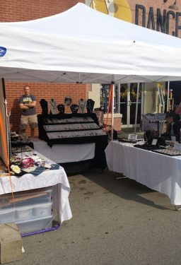 Barbara's Booth for Handcrafted Beaded, Wire Wrapped Jewelry