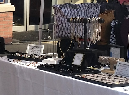 Jewelry Display by Barbara Rosol  - featured on Jewelry Making Journal