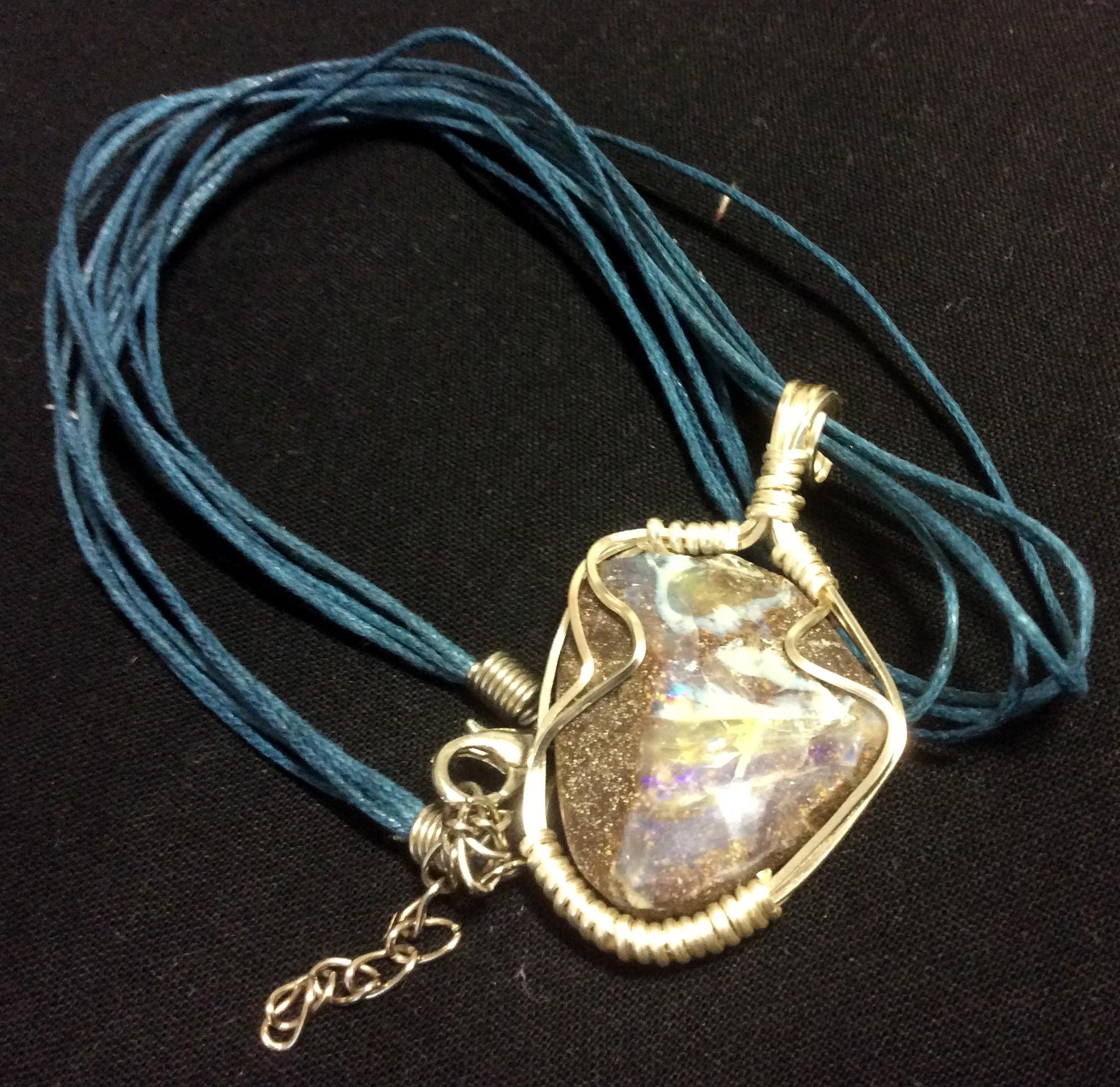 Opal / Rock Pendant