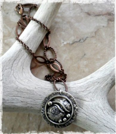 """""""Emerge"""" Necklace by Janice Root  - featured on Jewelry Making Journal"""