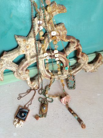 A found at the sea jewelry collection, by Teri Griffith  - featured on Jewelry Making Journal
