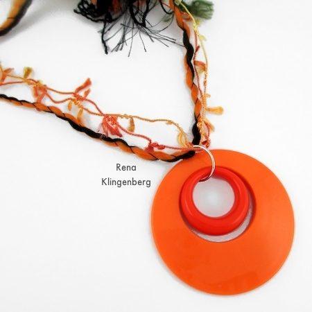 Fun with Layering Pendants - Tutorial by Rena Klingenberg