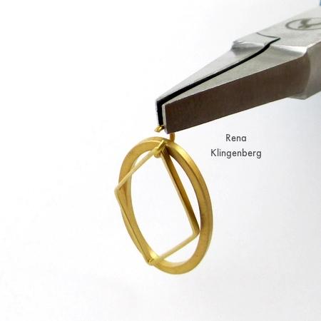 How to Assembling Earring Components for Make Filigree Earrings 10 Design Ideas Tutorial by Rena Klingenberg