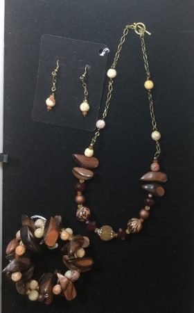Wooden & Stone Bead Jewelry - Sell Separately or as a Set? by Colleen  - featured on Jewelry Making Journal