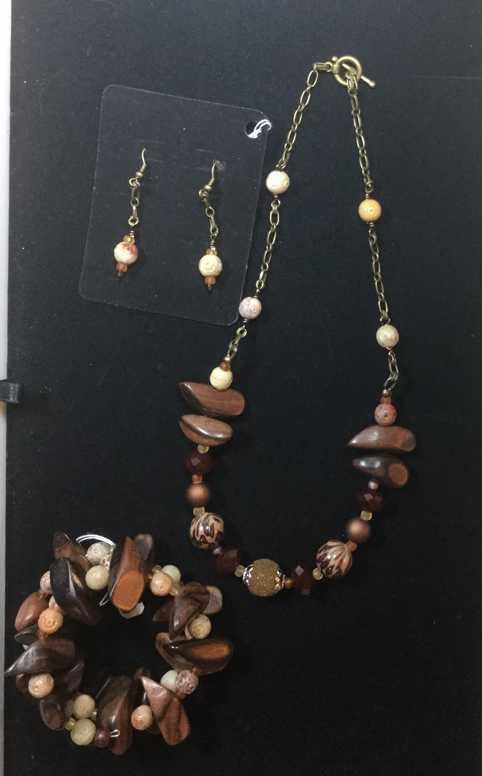 Wooden & Stone Bead Jewelry – Sell Separately or as a Set?