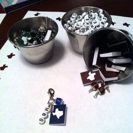 Components for Souvenir Charm for Miniature Book Society, by April's Studio  - featured on Jewelry Making Journal