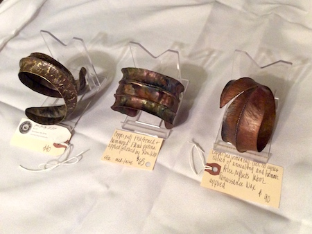 Selling Pricey Jewelry vs. Bargain Jewelry - fold formed metal jewelry by Pamela Dudrow -  - featured on Jewelry Making Journal