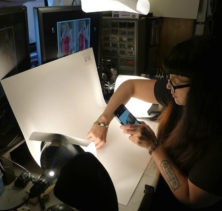 Using a simple low-tech lighting setup to photograph jewelry on your own body, by Rebecca Brooks  - featured on Jewelry Making Journal