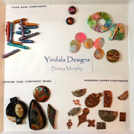 Handmade jewelry components by Betsy Murphy  - featured on Jewelry Making Journal