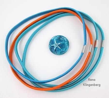 """Componentes para """"Verão"""" Pulseira Multi Wrap Fácil - Tutorial de Rena Klingenberg"""