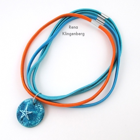 "Finished ""Summer"" Easy Multi Wrap Bracelet - Tutorial by Rena Klingenberg"