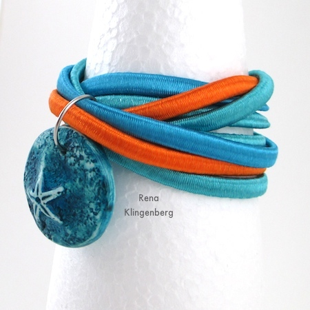 """Summer"" Easy Multi Wrap Bracelet - Tutorial by Rena Klingenberg"