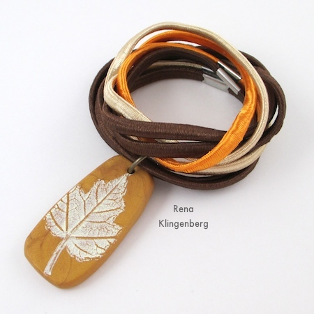 "Doubling the ""Autumn"" Easy Multi Wrap Bracelet - Tutorial by Rena Klingenberg"