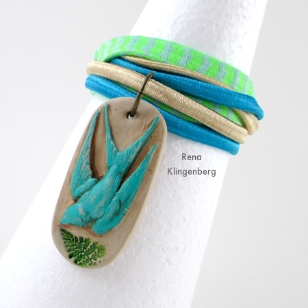 """Spring"" Easy Multi Wrap Bracelet - Tutorial by Rena Klingenberg"
