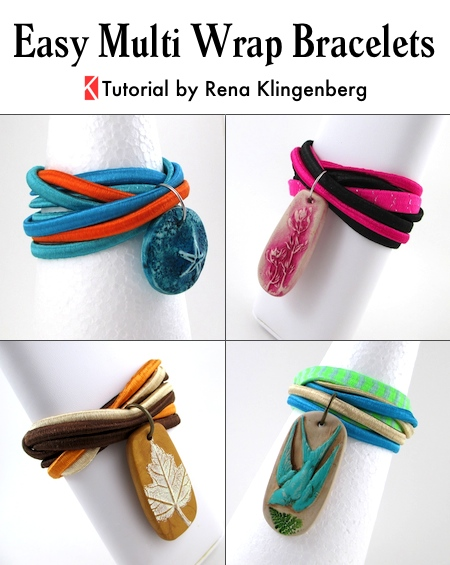 Easy Multi Wrap Bracelet - Tutorial by Rena Klingenberg