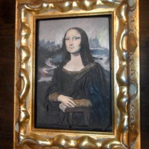 Mona Lisa 2.0 in Polymer Clay