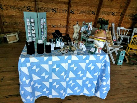 Vintage Barn Sale - 1st Time Jewelry Vendor, by Chris Rehkop  - featured on Jewelry Making Journal
