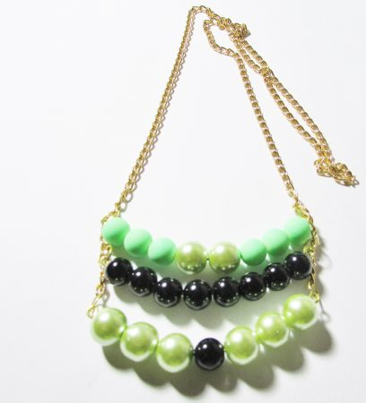 Three tier curved pendant by Joybelle Malcolm  - featured on Jewelry Making Journal