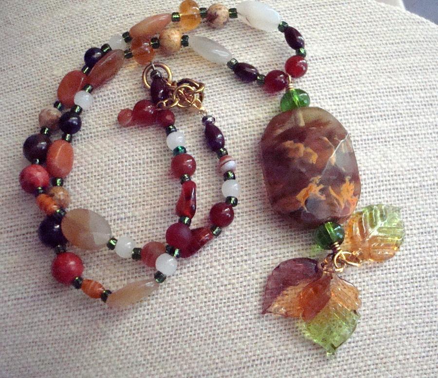 Mixture of Gemstones Necklace