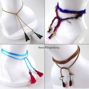 Wrap Choker Necklace (Tutorial)