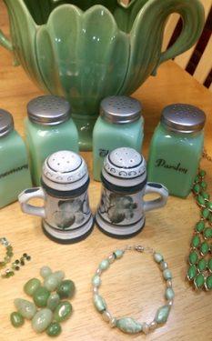 Grandma's Green Beads