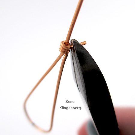 Pendientes de alambre de lágrima (Tutorial)
