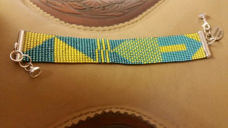 Beaded Bracelet by Pam McGuire  - featured on Jewelry Making Journal