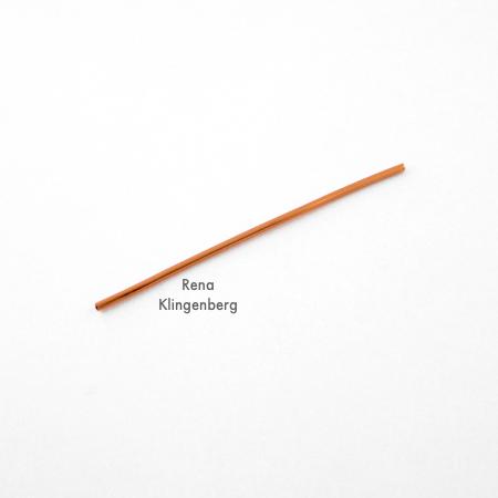 Fio para pulseira de miçangas e fios - Tutorial de Rena Klingenberg