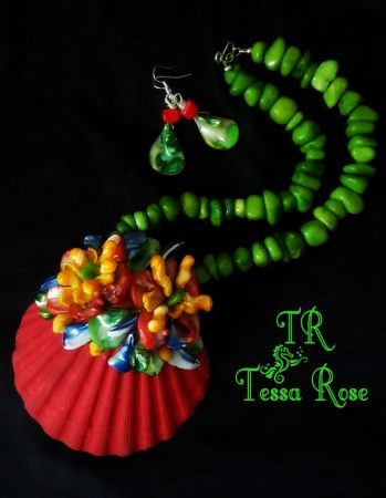 Statement Jewelry Set by Tessa Rose  - featured on Jewelry Making Journal