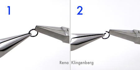 How to open a jump ring - by Rena Klingenberg