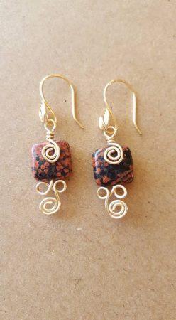 Sterling silver earrings by David Kresge  - featured on Jewelry Making Journal