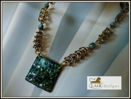 Mixed Media Jewelry by Deborah Stinnett  - featured on Jewelry Making Journal