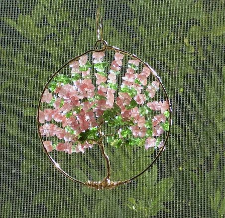 Spring and Summer Tree Sun Catchers by Nancy Vaughan