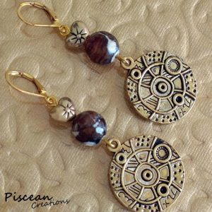 Subtle Steampunk Earrings