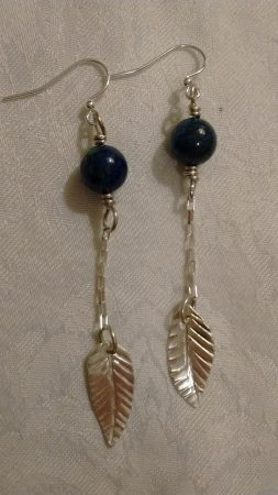 Sterling Silver Earrings by Kristene Gonzales - featured on Jewelry Making Journal
