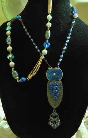 Redesigned Vintage Jewelry by Jackie Leonard  - featured on Jewelry Making Journal