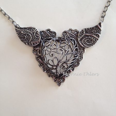 Wing and a Prayer by Marnie Ehlers  - featured on Jewelry Making Journal